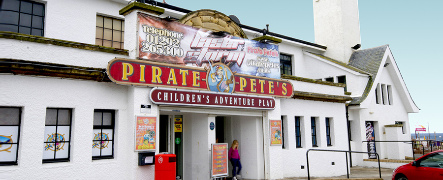 Pirate Pete's Childrens Adventure Play